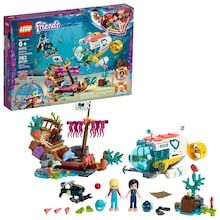 LEGO Friends Dolphins Rescue Mission 41378 Building Kit with Toy Submarine and Sea Creatures, Fun Sea Life Playset with Kacey and Stephanie Minifigures for Group Play Pieces) Lego Friends, Friends Set, Lego Duplo, Lego Ninjago, Legos, Van Lego, Pirate Maps, Shop Lego, Treasure Maps