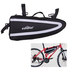 Cheap bike bag front, Buy Quality bicycle bag directly from China bike bag Suppliers: Cycling Bike Bag Front Tube Storage Large Bicycle Bag Bike Storage Triangle Bag Cycling Bike Accessories Storage Promotion Cycling Bag, Cycling Bikes, Mtb Bike, Road Bike, Triangle Bag, Bicycle Bag, Bike Storage, Bicycle Accessories, Large Bags