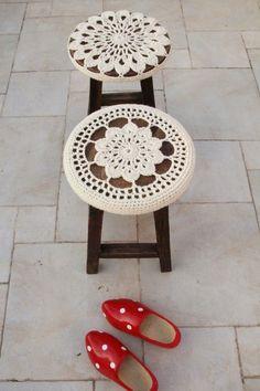 Ideas para decorar sillas y taburetes