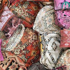 Boujad Floor pillows & beni ourain floor pillows