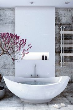 An indulgent spa style bathroom to spend more time relaxing and less time stressing!
