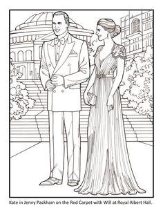 Kate The Duchess of Cambridge Royal by PaperDollsbyERMiller