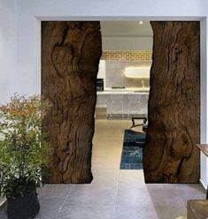 There are basically two types of barn door hardware. The first is a rustic, flat track sliding door system The second is a more modern roller and track style House Design, Door Design, House, Home, Interior Barn Doors, Wood Doors, Innovation Design, Doors, Rustic House