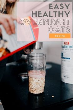 easy overnight oats recipes / oatmeal oats recipe