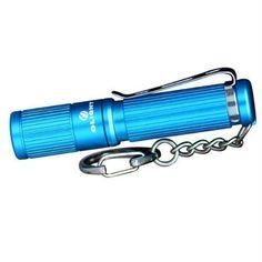 Olight i3S EOS Keychain Flashlight, Blue Olight