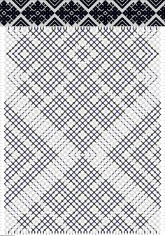 this pattern is actually three colors, it's just pretty dark
