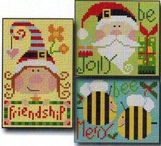 More Christmas Ornaments - Cross Stitch Pattern