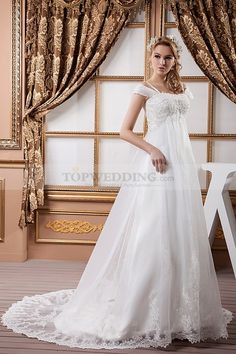 Empire Waist Plus Size Wedding Dress 2013 Wedding Dress 2013, Lace Wedding Dress, Amazing Wedding Dress, Applique Wedding Dress, Wedding Dresses Plus Size, Plus Size Wedding, Cheap Wedding Dress, One Shoulder Wedding Dress, Lace Dress