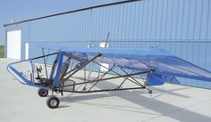 The plane I first soled in!  1985 Teratorn 1 Ultralight.  Powered by 28hp single cylinder Rotax 277 2 stroke engine.