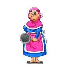 Mother using pink apron holding pan vector Free Vector Images, Vector Free, Pink Apron, Border Design, Disney Characters, Fictional Characters, Crafts For Kids, Colorful, Artist