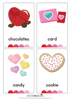 If you love Valentine's Day, then you will love our newly designed Valentine's Day vocab flash cards!
