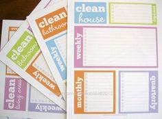 clean house printables....$$