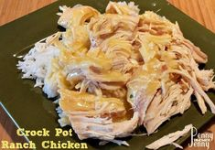 Crock Pot Ranch Chicken Only Four Ingredients