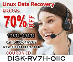 Unbelievable discount of 70% on Linux #datarecovery #software .