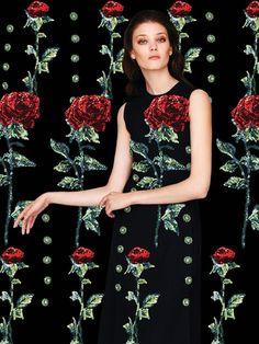 Diana Moldovan  por  Enric Galceran  para  Vogue México setembro 2015