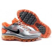 Nike Air Max 2013 Women Orange Silver Black $99  http://www.retrowhite.com/
