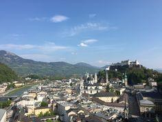 Ausblick auf Salzburg Stadt