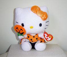 Hello Kitty Ty Halloween Beanie 2013 with Lollipop @mytexastreausres  aw......