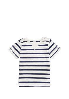 Clothing at Tesco   Charlie & Me Striped T-Shirt > tops > Baby Boys > Baby £6