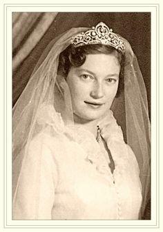 Princesse Joséphine-Charlotte du Luxembourg le 12 avril 1953
