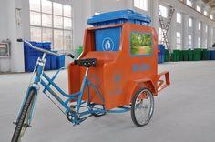 more eco - waste garbage vehicle