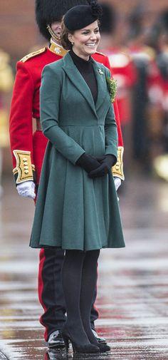 Kate Middleton, Emilia Wickstead Coat, St Patrick's Day