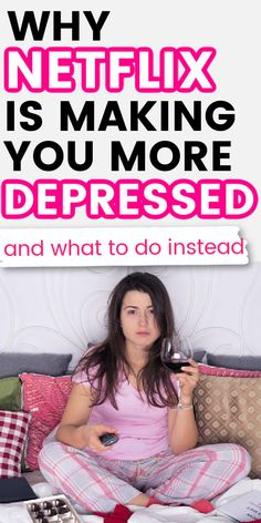 Movies to Watch List Netflix Sad - If you're sad, lonely, or depressed, Netflix might be making your mental and emotional health bad. Netflix can be addicting and let you soak in your sadness. Improve your happiness by doing this instead.