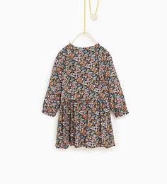 ZARA - KIDS - Flowing floral dress