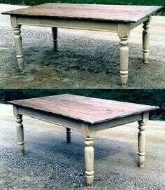 Love this simple table :)