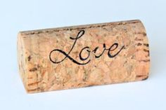 Custom and Personalized Wine Cork Place Card Holders - CorkeyCreations.com, @Corkey Creations
