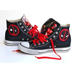 Deadpool Converse shoes