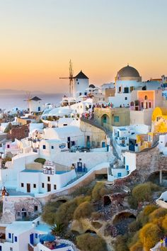 10 Stunning Hotels on the Greek Islands - Dreaming of a Mediterranean getaway this summer? You can't go wrong with Greece, with its eye-popping blue water and gleaming whitewashed buildings that are as beautiful and unique as the country's 6000 (!) islands. The only real problem you'll face is choosing where to stay. From luxury villas to charming hillside estates, we've rounded up the 10 best hotels on the Greek Islands.