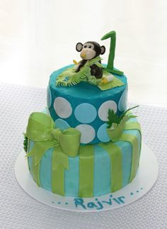 Baby Monkey Cake  SUGAR JEWELS CAKES & CONFECTIONS