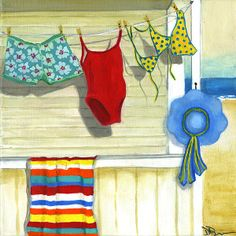 """""""Out to Dry"""" by Debbie Brown"""