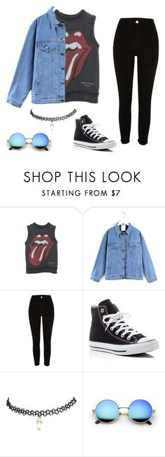 """Indie grunge"" by fabiana-fashion ❤ liked on Polyvore featuring Comme des Garçons, Quintess, River Island, Converse, Wet Seal, indie, grunge and hippie"