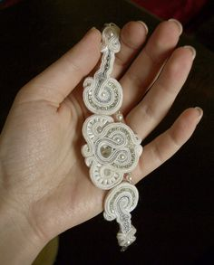 soutache bracelet created by me (GOCHJU sutasz ) :)