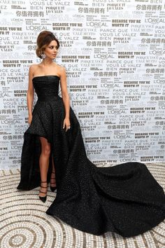 Cannes Cannes: The Best Film Festival Fashion 2014 - Cheryl Cole in Monique Lhuillier
