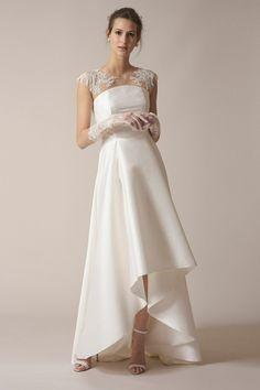 vestido de novia diseñado por  Babi