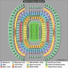 At T Stadium Seating Chart