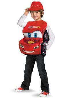 Kids Deluxe Lightning McQueen Costume