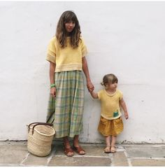 ❤️ ace and jig midi skirt Babaa knitwear top