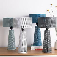 Perforated Metal Lamp