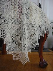 Ravelry: Christening Shawl CW103 Rose of York (Women's Own) pattern by Gema Ord