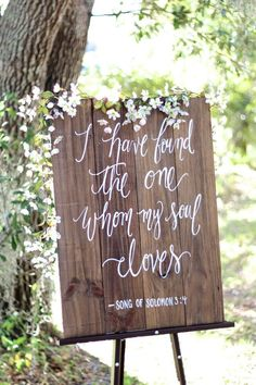 Wedding love quote : I Have Found The One Whom My Soul Loves. | Song of solomon