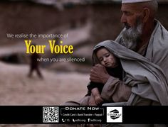 When you are silence.. !  visit: http://edhi.org/