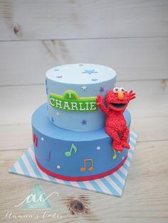 Elmo taart muzieknoten