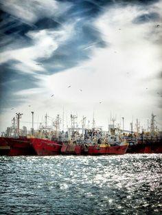 Puerto de Bahía Blanca #bahíablanca #port #boat #fishing #pesca #mar #sea