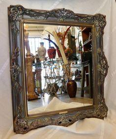 Fotos de espejos antiguos rissa pinterest - Marcos espejos antiguos ...