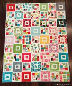 re•engineered: shortcake quilt