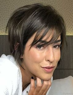 50 New Short Hairstyles for 2019 – Bobs and Pixie Haircuts - - Short Hairstyles - Hairstyles 2019 The present article is around 100 new short haircuts for We as a whole almost certain that long hair isn't the best choice for every woman to be generally Short Hairstyles For Thick Hair, Face Shape Hairstyles, Haircut For Thick Hair, Short Pixie Haircuts, Hairstyles Haircuts, Short Hair Cuts, Short Hair Styles, Long Face Short Hair, Bob Haircuts